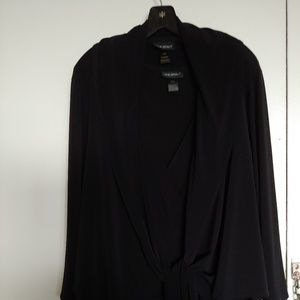 Lane Bryant Black Jumpsuit with Jacket-Size 26/28